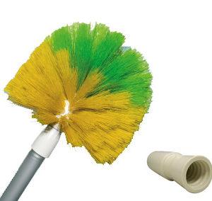 Vassoura limpa teto