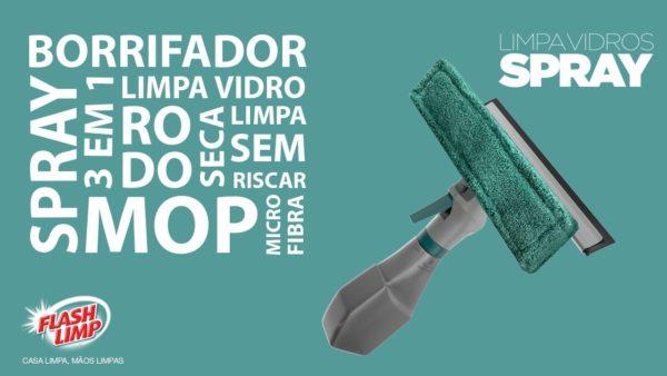 Limpa Vidro Spray