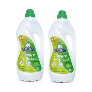 Vinagre de Álcool para limpeza 2 lts
